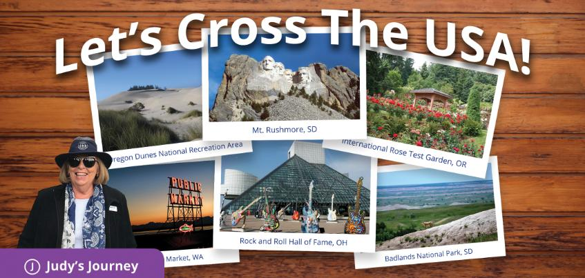Special Events image for Let's Cross the USA!