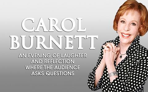 Carol Burnett at the Dr. Phillips Center