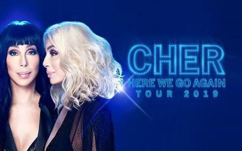 Cher at TD Garden