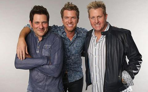 Rascal Flatts at the Strawberry Festival
