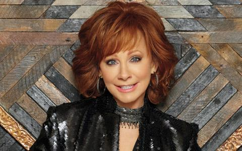 Reba McEntire at the Strawberry Festival