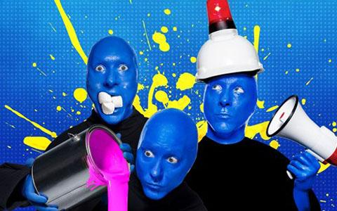 The Blue Man Group & Universal's City Walk