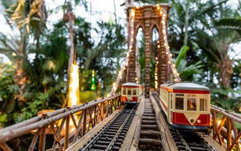 Holiday Train Show at NY Botanical Garden