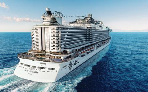Manager's Cruise on MSC Seaside
