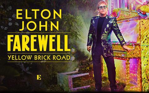 Elton John at Amalie Arena