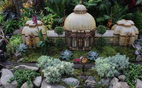 Holiday Train Show at the NY Botanical Gardens