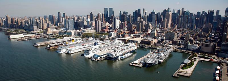 Cruise express shuttle for Pier hotel new york